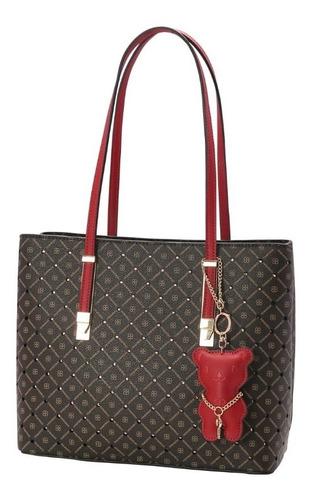 bolsa feminina de luxo fun chik ombro chenson 82738 ursinho