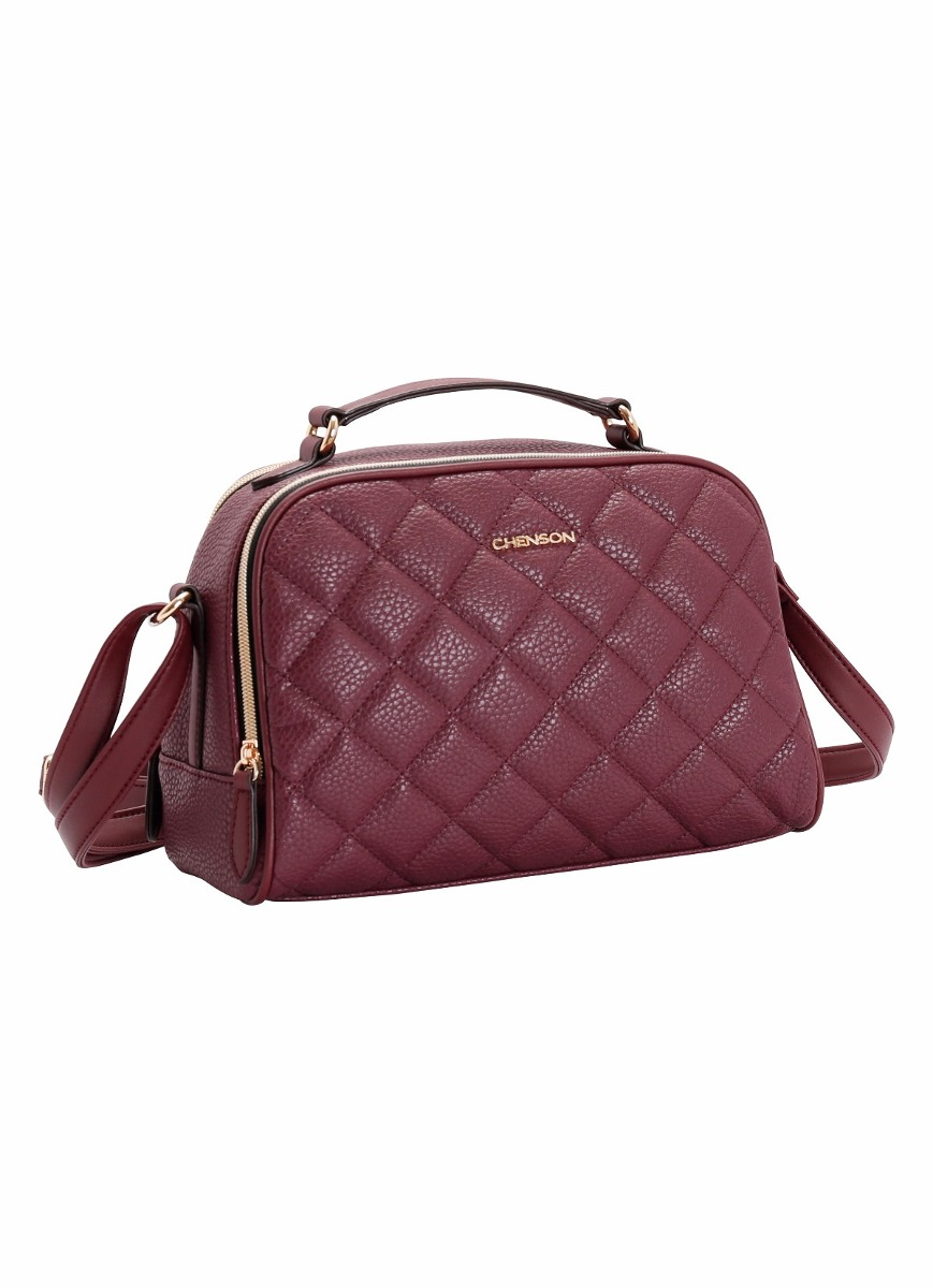 97a8f776b Bolsa Feminina De Ombro Casual Chic Chenson 3481264 - R$ 149,00 em ...
