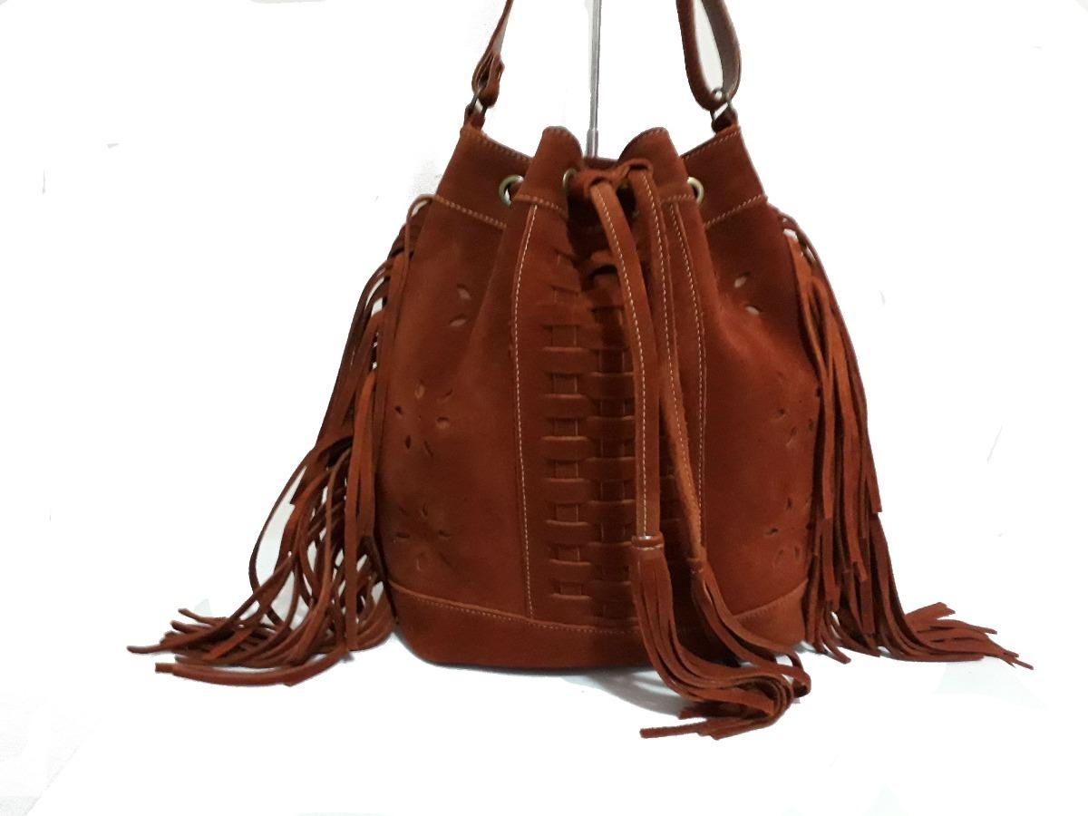 1b979bd38 bolsa feminina de saco couro legítimo c/franja frete grátis. Carregando  zoom.