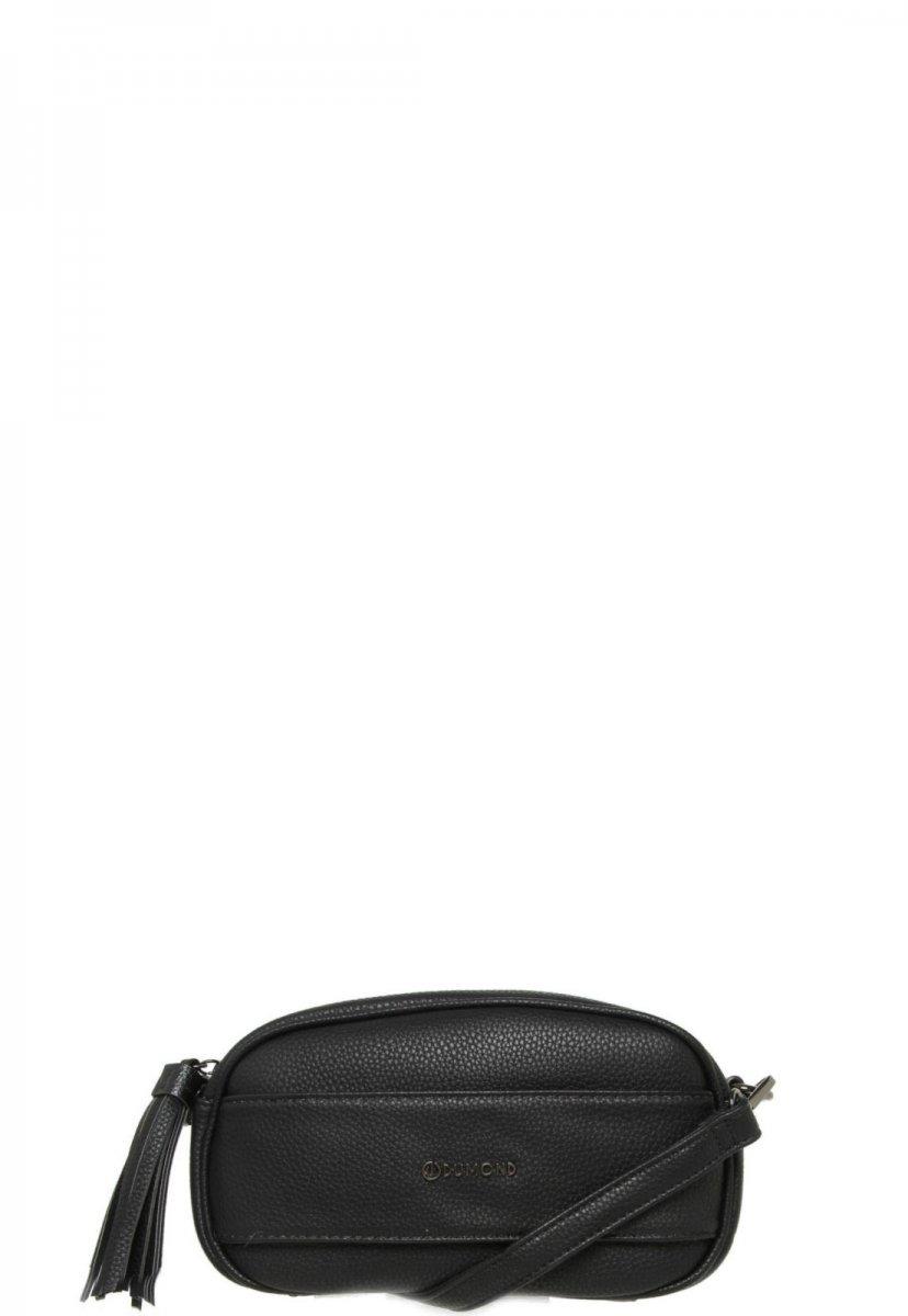 b3f55d52e Bolsa Feminina Dumond Transversal Tassel Preta 484922 - R$ 149,90 em ...