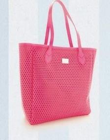 1f05f3ddd Bolsa Triton Rosa Original - Bolsas de Couro Coral no Mercado Livre ...