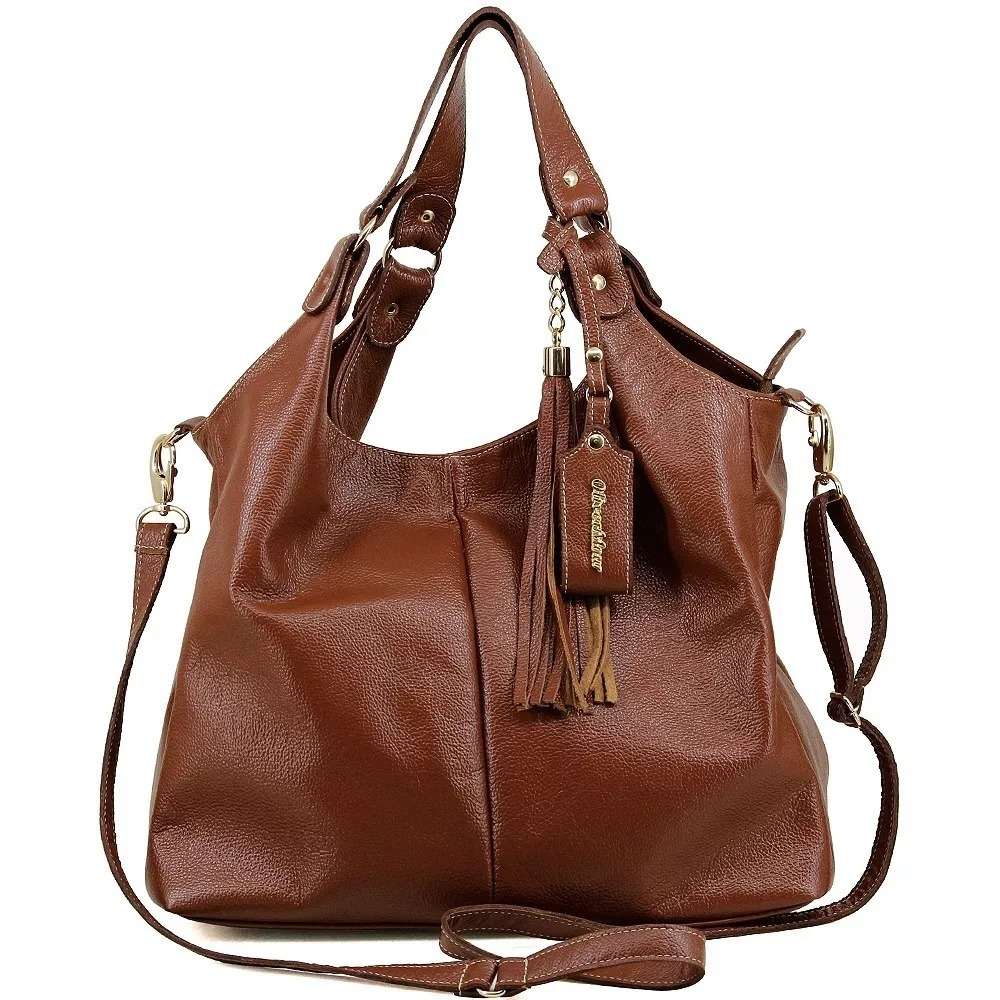 5a78e89fd bolsa feminina em couro legitimo caramelo marrom original. Carregando zoom.