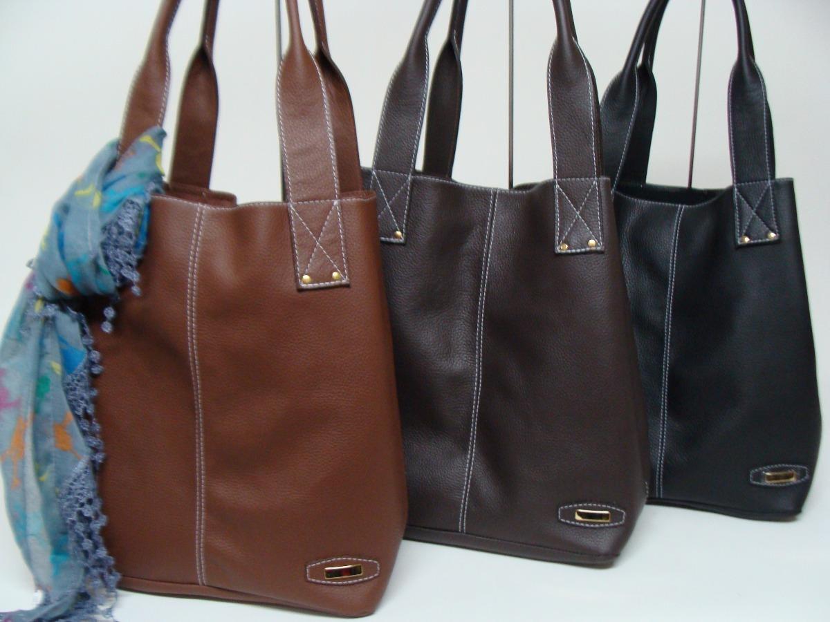 5853331ca bolsa feminina em couro legítimo direto da fabrica promoção. Carregando zoom .