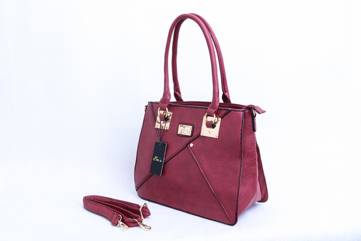 54462c564 Bolsa Feminina Ens De Couro Sintético Vermelha - Cod. Ed0122 - R$ 99 ...