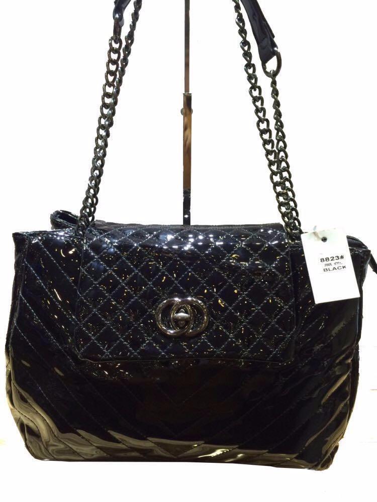 3e2d74dd4 bolsa feminina envernizada social excutivo luxo(dois bolsas). Carregando  zoom.