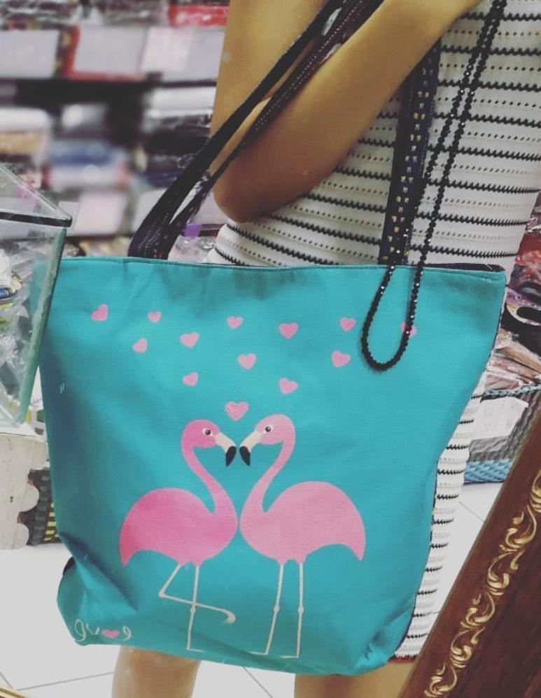 bolsa feminina etnica flamingo indiana hippie moda boho saco. Carregando  zoom. 69912782d33