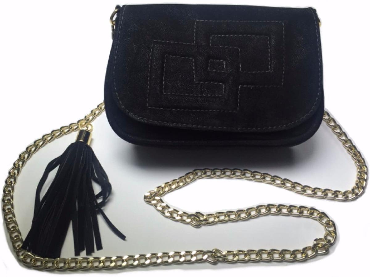 Bolsa Ellus Clutch Alto Relevo : Bolsa feminina festa clutch em nobuck transversal corrente