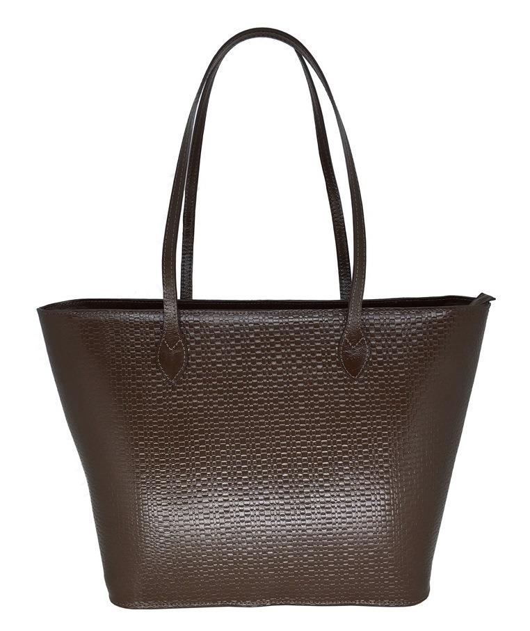 b3a81ce68 bolsa feminina grande de couro legítimo ombro tote sacola. Carregando zoom.