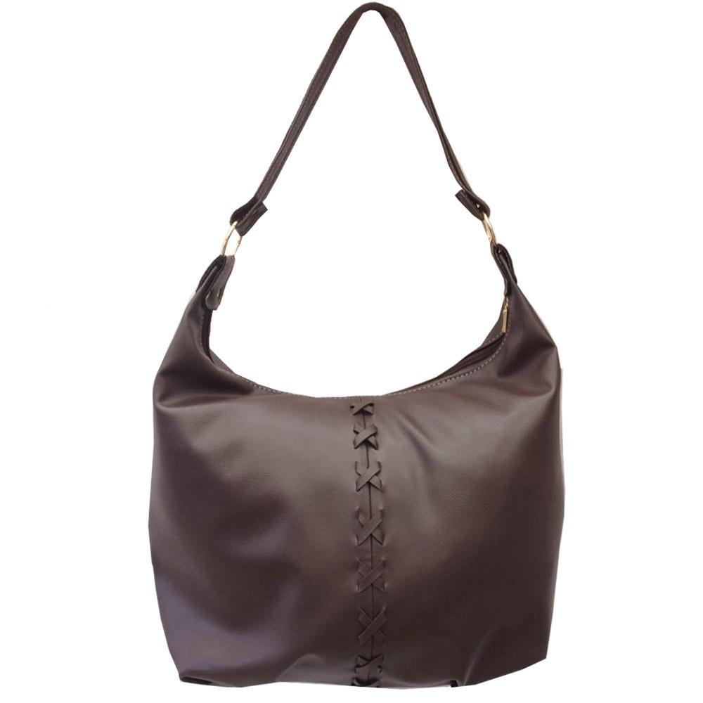 20dd9d5aa bolsa feminina grande de couro sintético alça ombro barata. Carregando zoom.