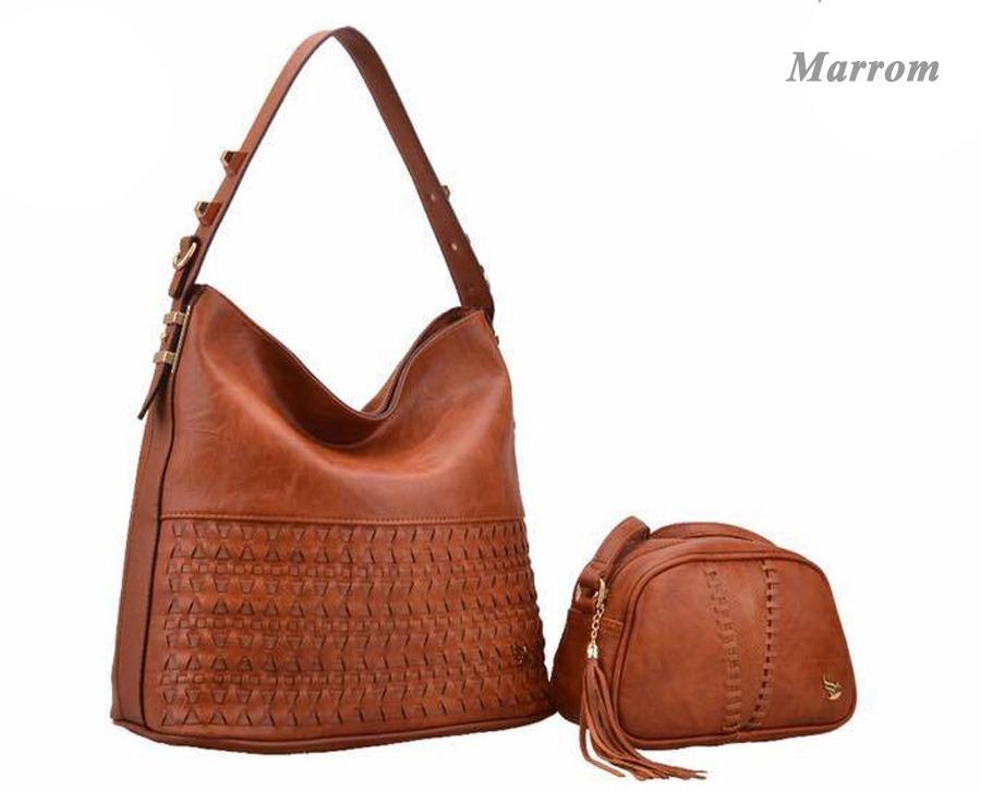 125e96f56 Bolsa Feminina Grande Golden Fenix Importada De Couro - R$ 189,90 em ...