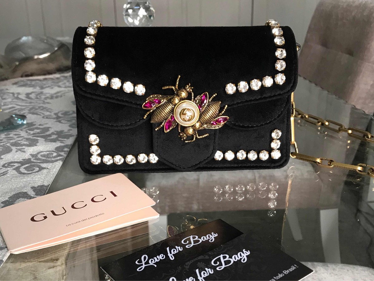 3b6715c15 Bolsa Feminina Gucci - Importada Marca Luxo - R$ 999,90 em Mercado Livre
