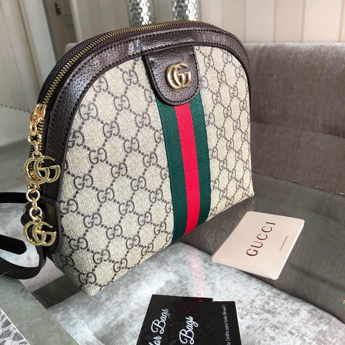 e2a45a8c9 Bolsa Feminina Gucci - Importada Marca Luxo - R$ 830,00 em Mercado Livre