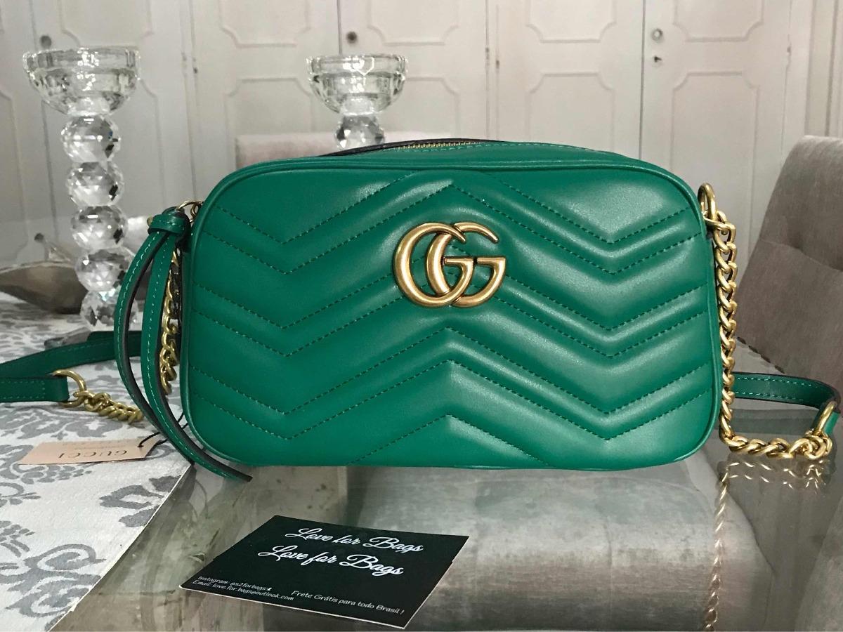 f9d7a3808 Bolsa Feminina Gucci Small- Importada Marca Luxo - R$ 860,00 em ...