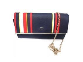 aa3dfcf42 Bolsa Feminina Guess Azul, Vermelha E Branca + Frete Grátis