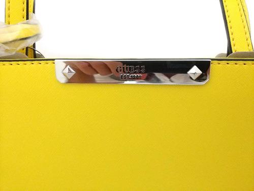 bolsa feminina guess couro sintético est. 1981 várias cores