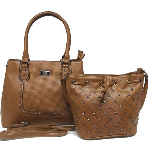bolsa feminina importada kit ombro média couro p entrega
