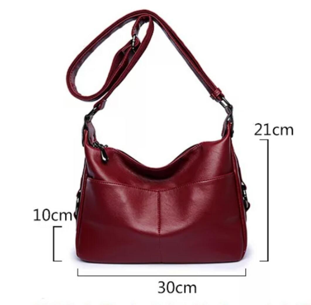 65a453227 Bolsa Feminina Importada Luxo - Cor Vinho - R$ 234,90 em Mercado Livre