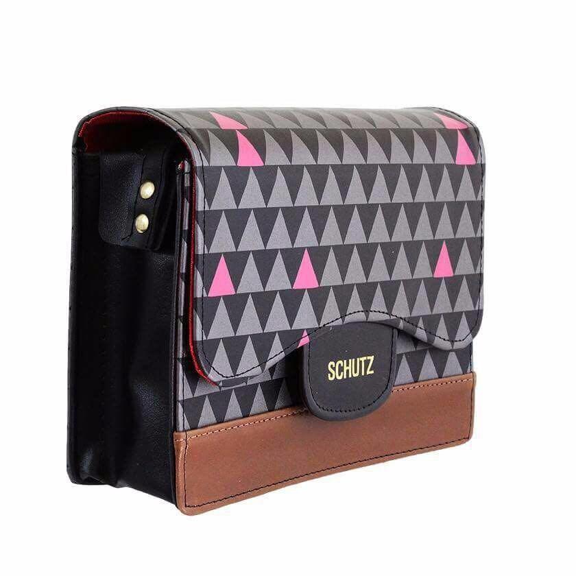 e4a8115ac Bolsa Feminina Inspiracao Schutz Triangle Soft Transversal - R$ 48,95 em  Mercado Livre