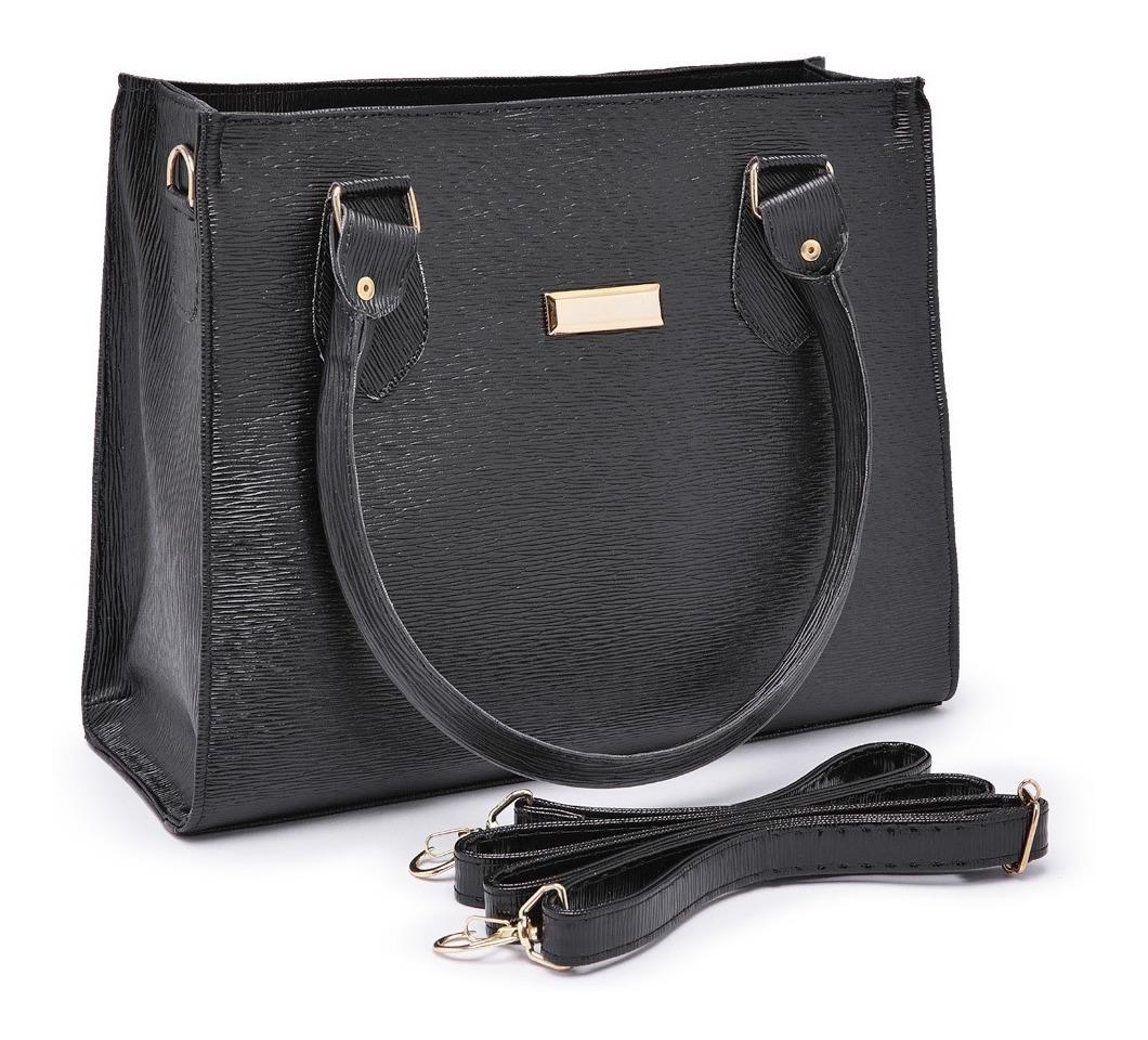98bff2b5e0 bolsa feminina kit com 3 bolsas grande pequena bau carteira. Carregando  zoom.