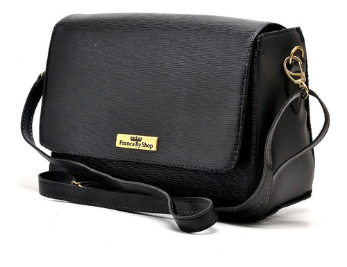 bolsa feminina kit com 3 peças alça tira colo