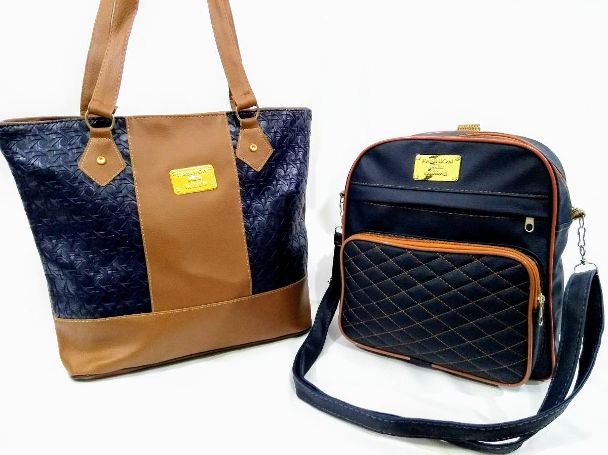 9435c090fe bolsa feminina lado ombro mochila kit vários modelos. Carregando zoom.