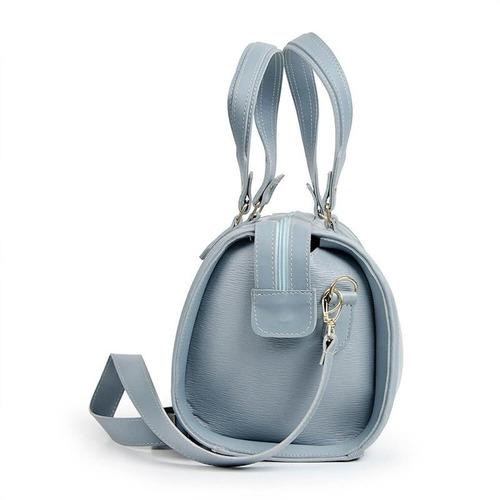 bolsa feminina luma ventura florella azul claro