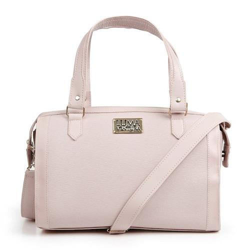 bolsa feminina luma ventura florella rosa