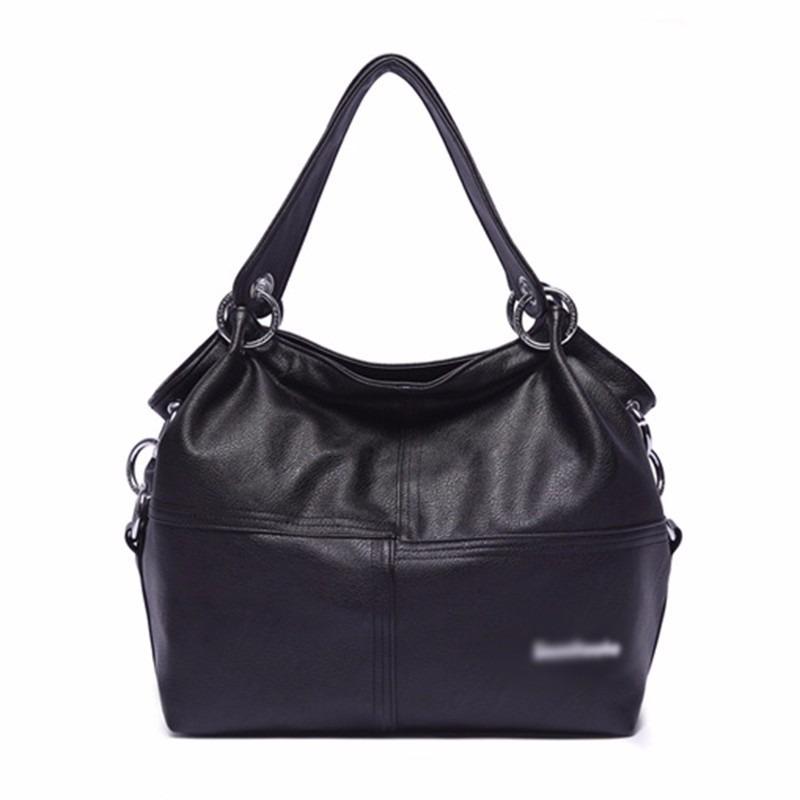 Bolsa Feminina Casual : Bolsa feminina marca de couro tipo sacola ombro casual