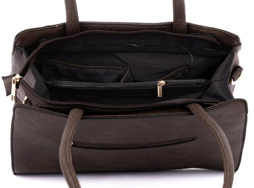 bolsa feminina média ombro lateral carteira alta qualidade