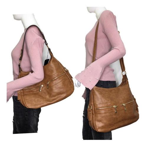 bolsa feminina media ombro tiracolo transversal saco xaviera