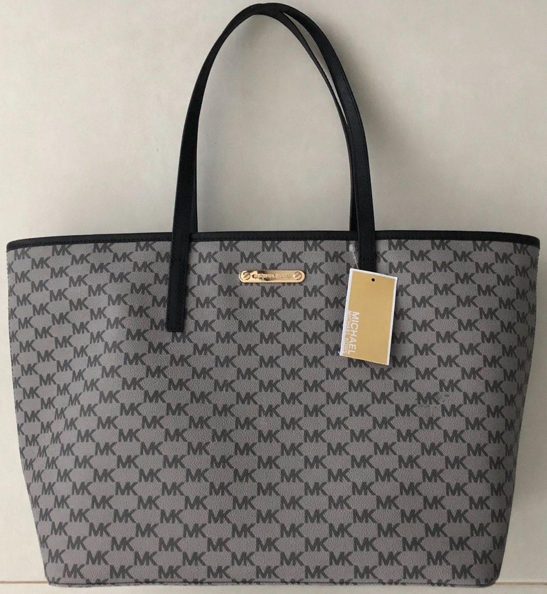 4764375da bolsa feminina michael kors cinza grande original importada. Carregando  zoom.