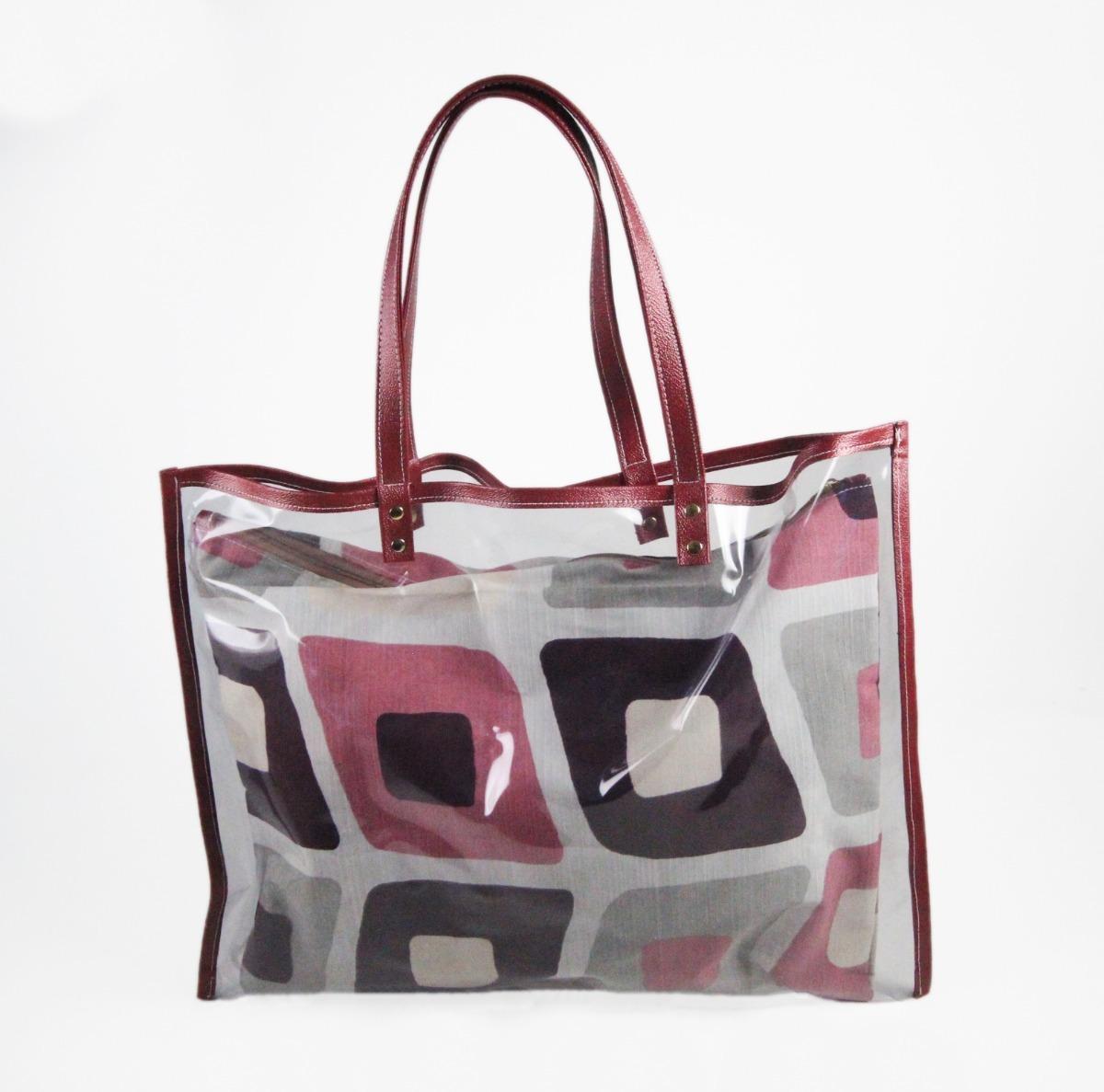 7d9345a49 bolsa feminina moda praia plástico transp sacola alça ombro. Carregando  zoom.