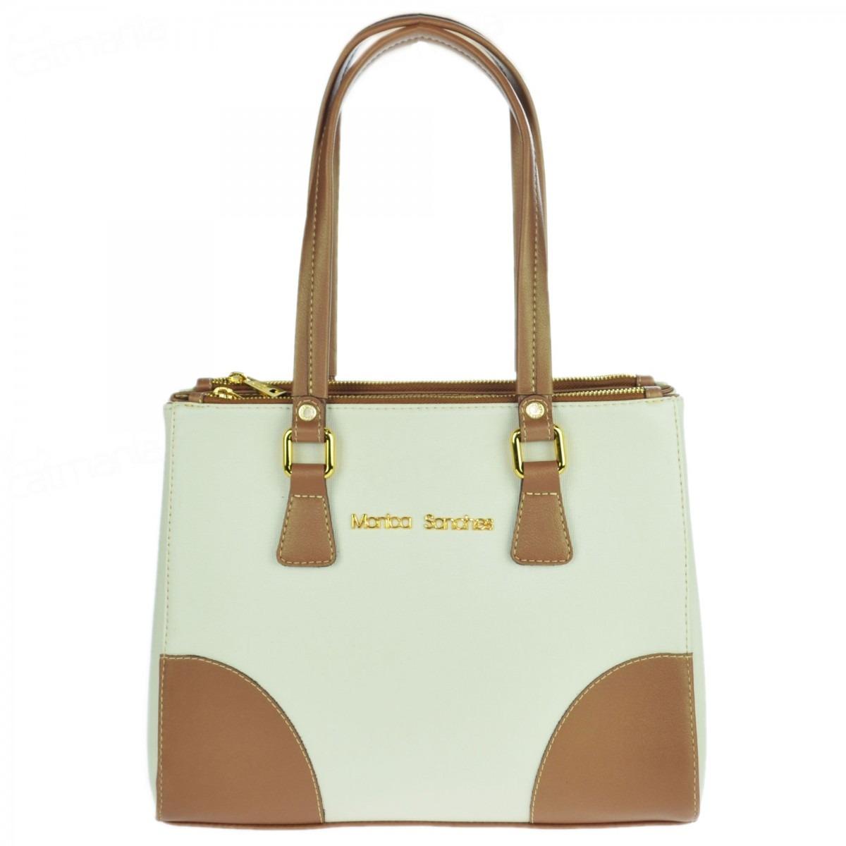 Bolsa Feminina Monica Sanches - 3002b  6011ae53913