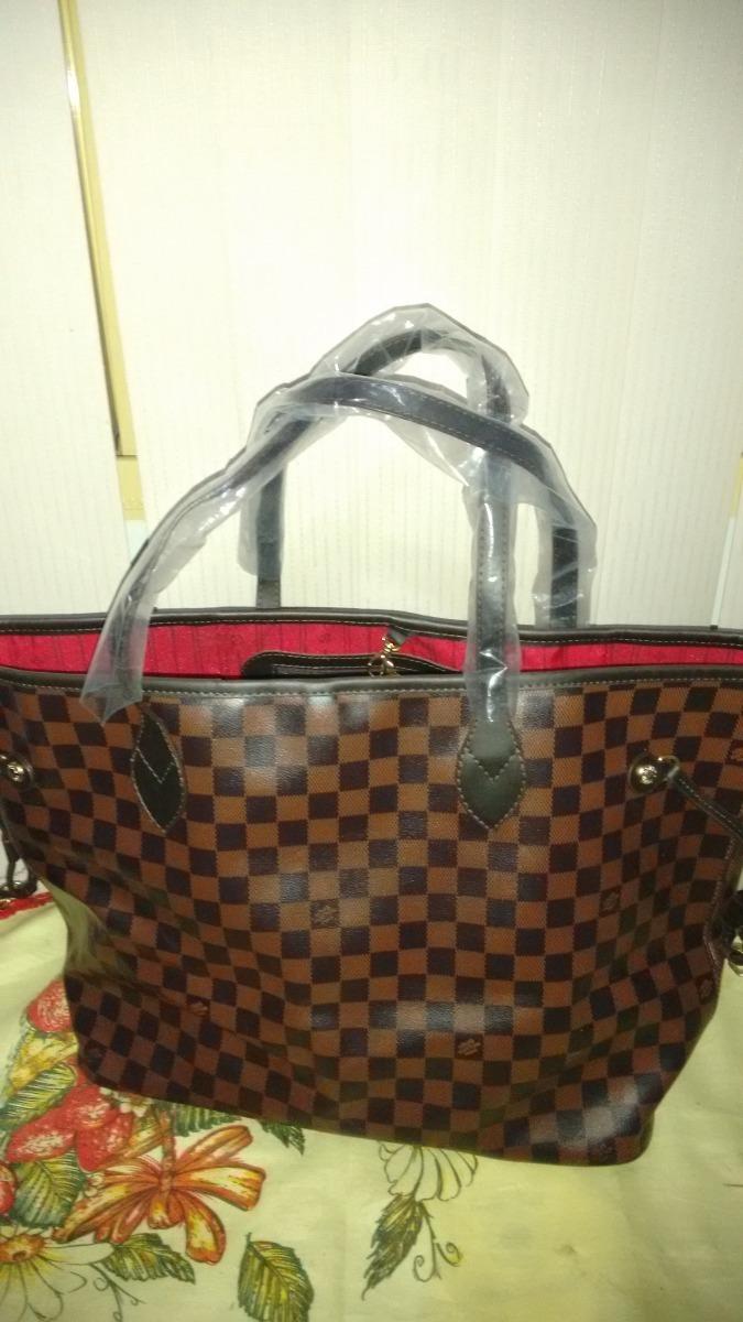 463647d67 Bolsa Feminina Neverful Lv Grande Marrom+ Bau Schutz - R$ 199,90 em ...