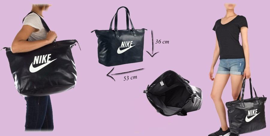 Bolsa Feminina De Couro Nike : Bolsa feminina nike heritage original com nota fiscal ver