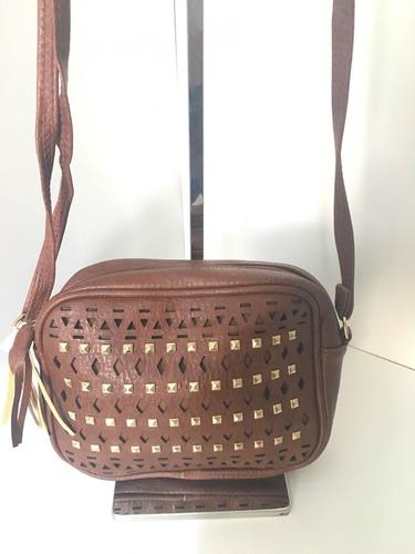 bolsa feminina pequena alça marrom barato linda ref 32