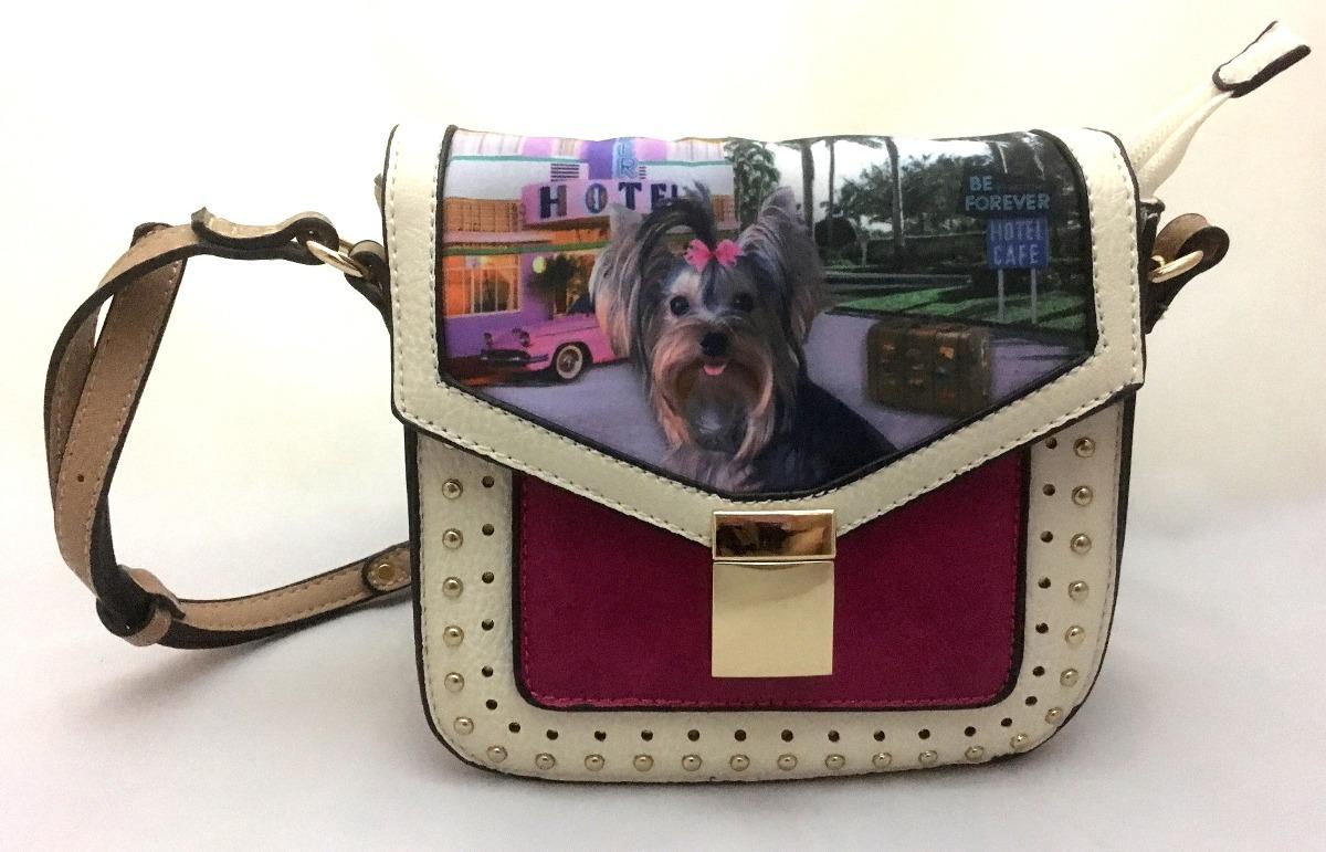 0246a1d69 bolsa feminina pequena cachorro york trip original rafitthy. Carregando  zoom.