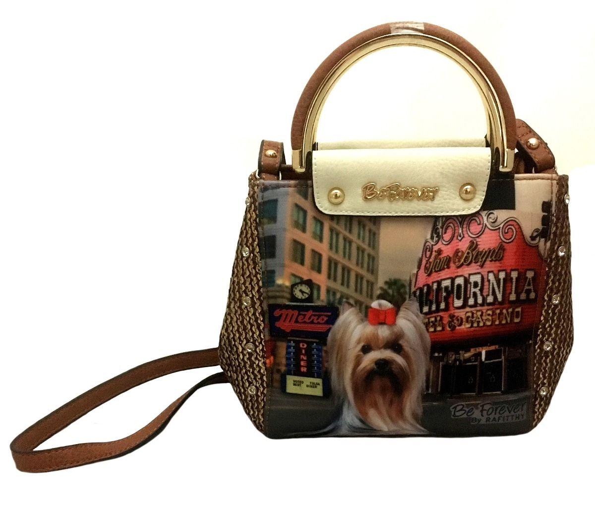 c876ae890 bolsa feminina pequena york casino marrom original rafitthy. Carregando  zoom.