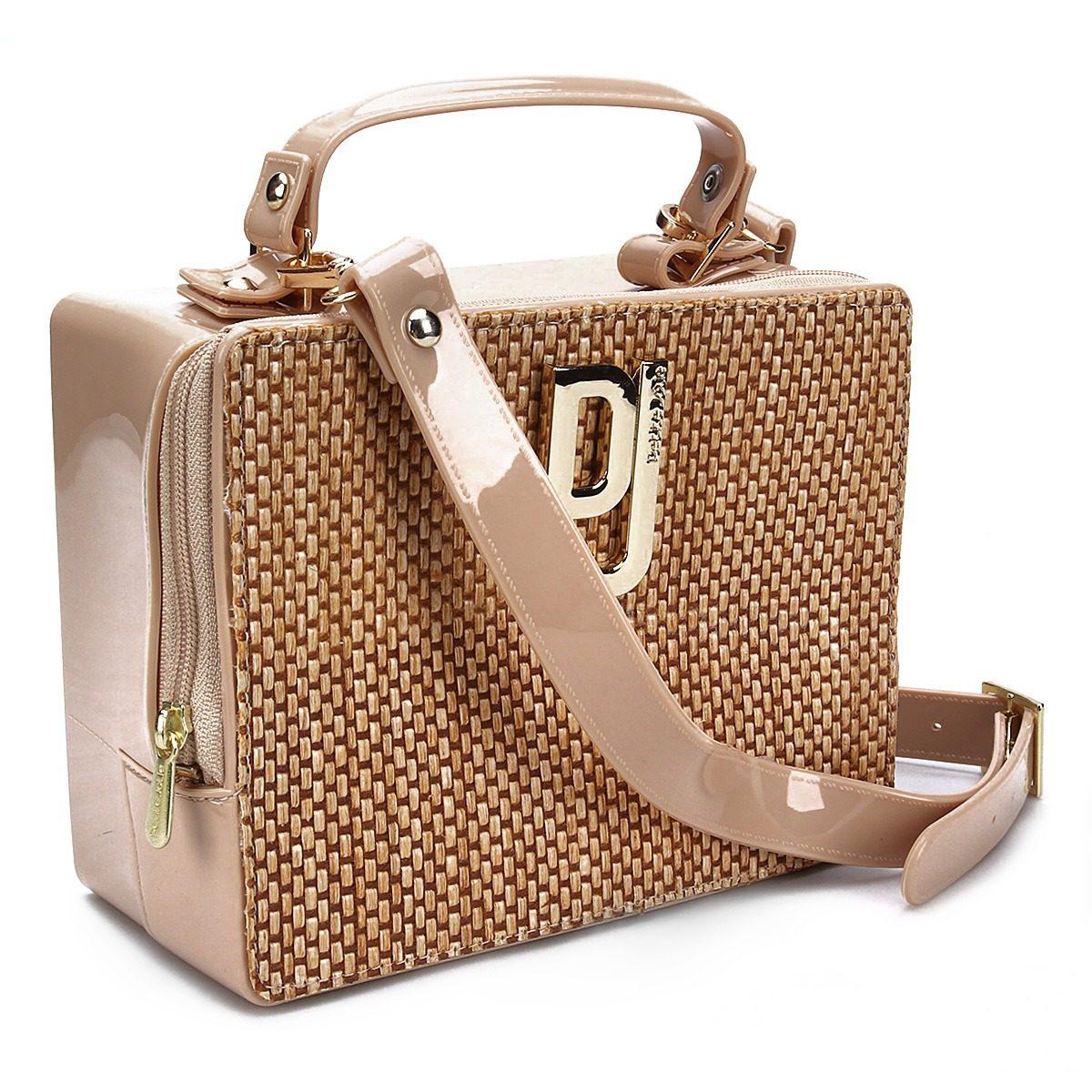 101333bbe bolsa feminina petite jolie tiracolo mini bag box pvc cores. Carregando  zoom.