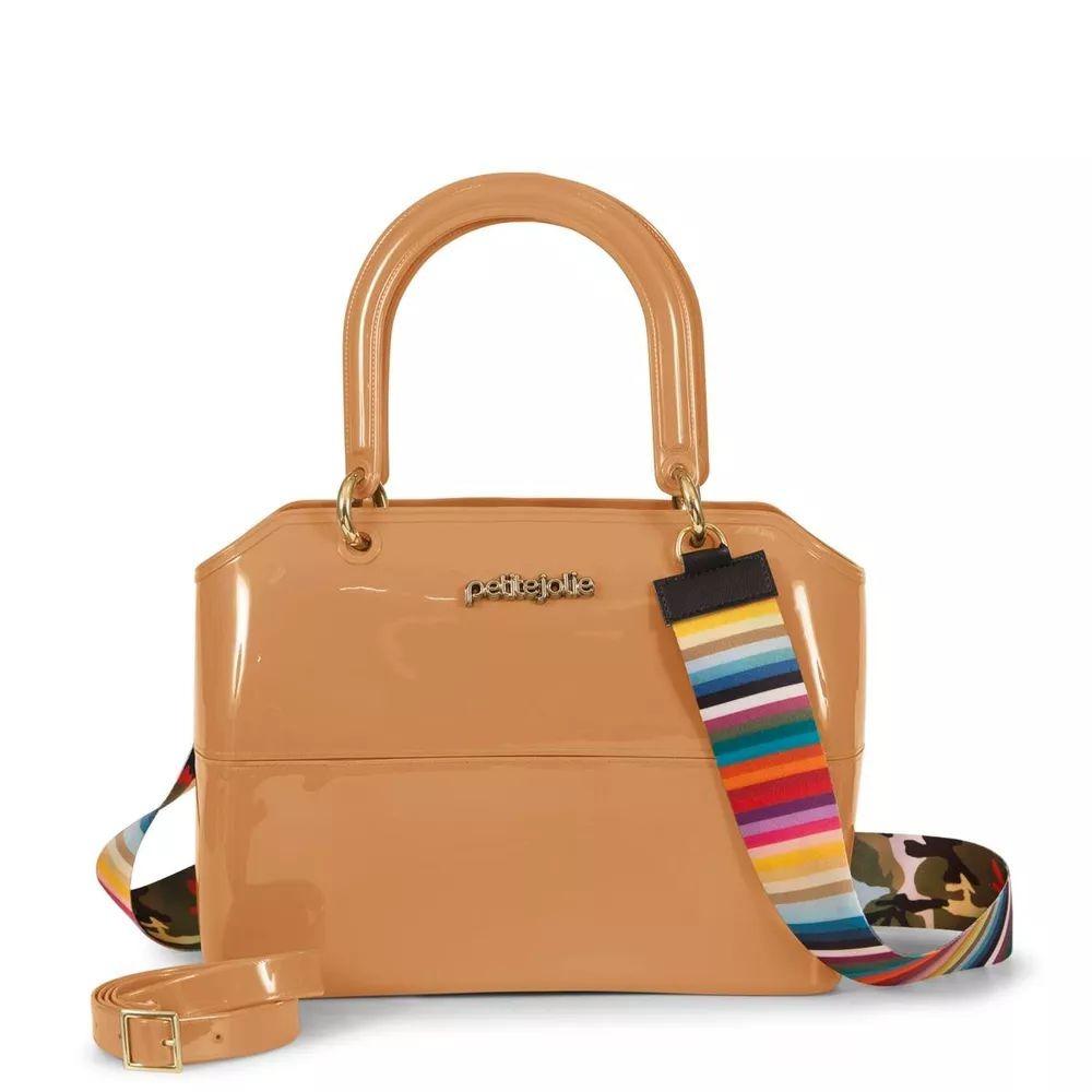 0af714e154 Bolsa Feminina Petite Jolie Zip Bag Pj3177 Bold Nude - R  119