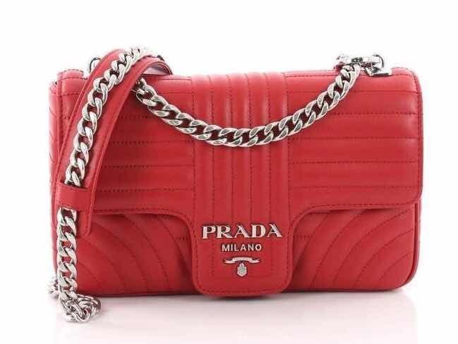 1122edeb1 Bolsa Feminina Prada - Importada Marca Luxo - R$ 930,00 em Mercado Livre