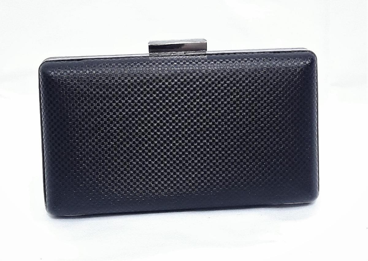bolsa feminina preta clutch festa de mao tiracolo carteira. Carregando zoom. 2c9b87d9956