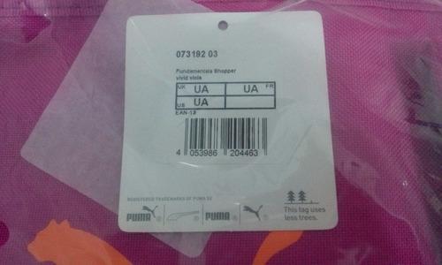 bbd012378 bolsa feminina puma fundamentals shopper - original nova. Carregando zoom...  bolsa feminina puma