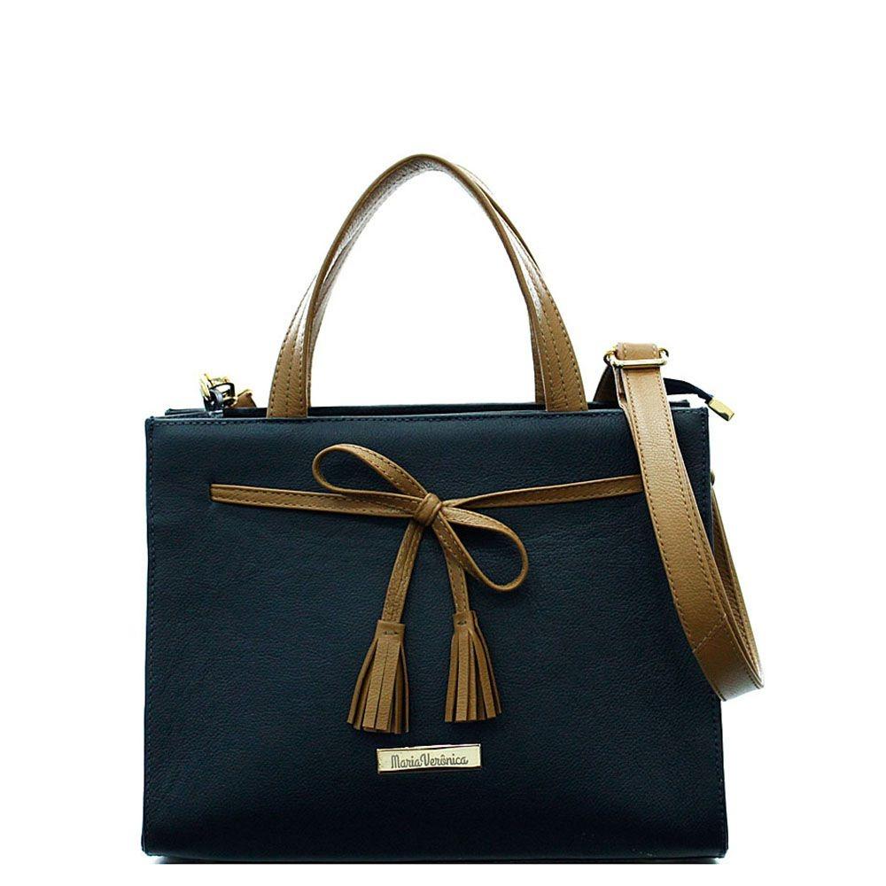 718b02b7a bolsa feminina quadrada laço couro legítimo cor azul/marrom. Carregando  zoom.