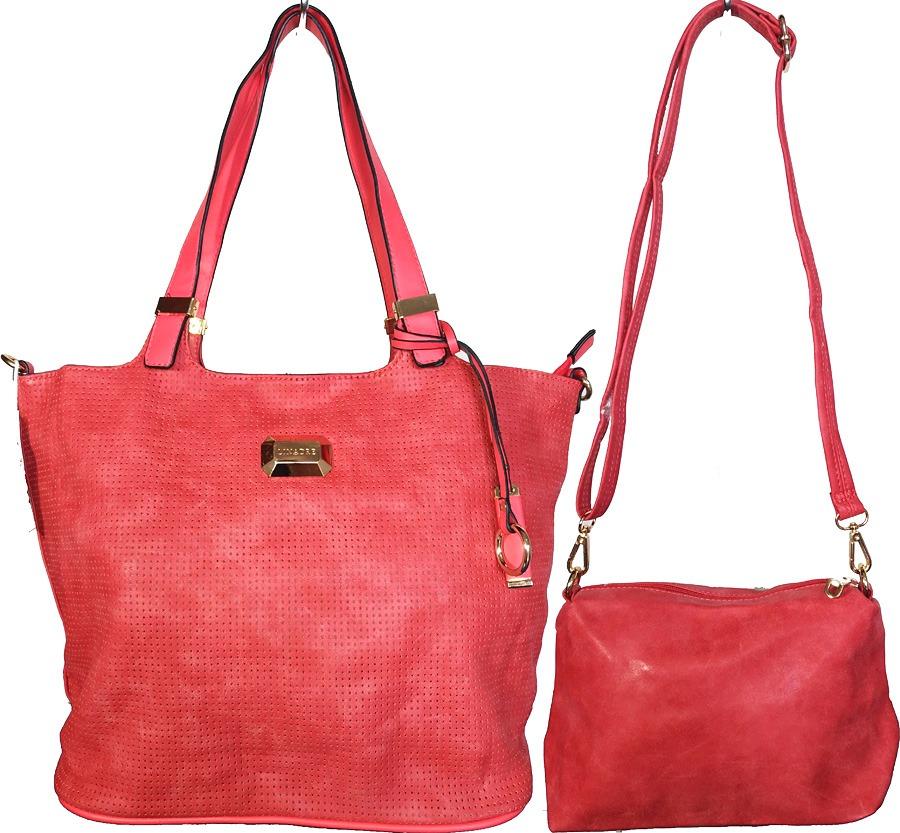 f496507763 bolsa feminina saco 2 alca de ombro kit com duas pecas. Carregando zoom.