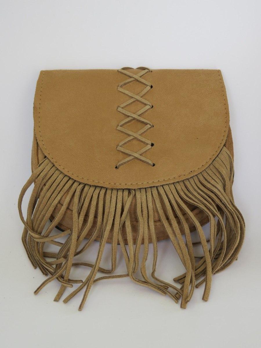 0a95d81a6 bolsa feminina saco com franja jeans e couro camurça. Carregando zoom.