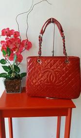 d8cfb2145 Bolsa Chanel Shopper Réplica - Bolsa Outras Marcas Vermelho em São ...