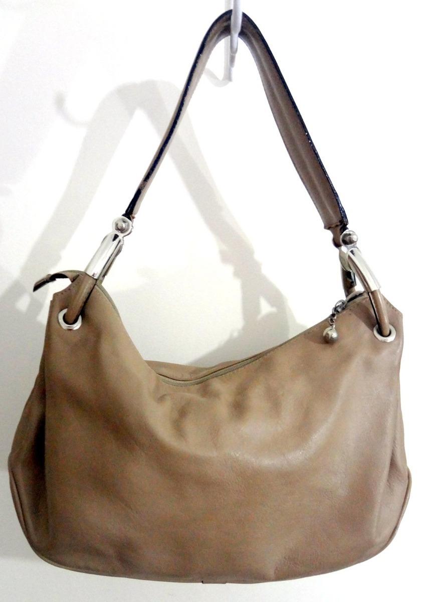 927242969 Bolsa Feminina Smart Bag Couro Bege - R$ 99,00 em Mercado Livre