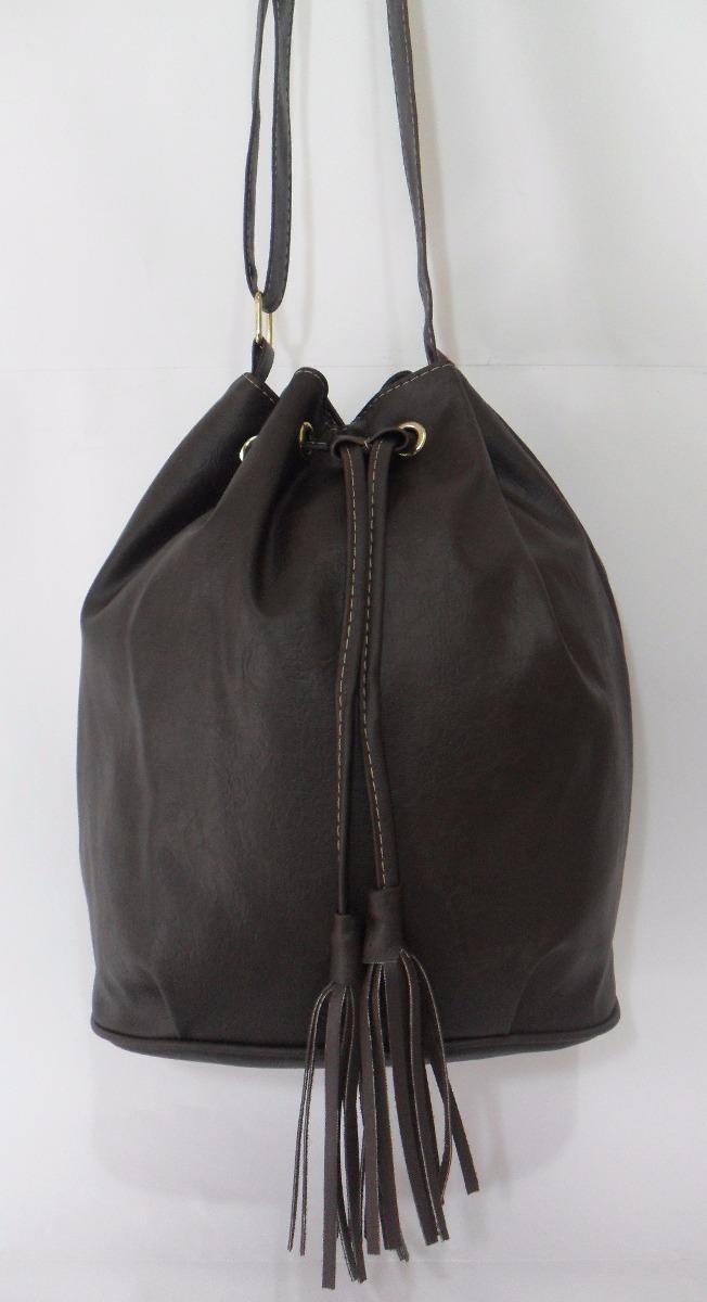 7fc4ee578 bolsa feminina tipo saco transversal tiracolo couro sintét. Carregando zoom.