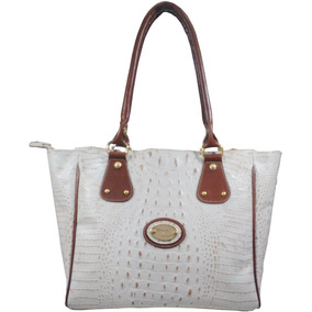 305919b65 Bolsa Tipo Sacola Dourada Feminina - Bolsas de Couro Coral claro no ...
